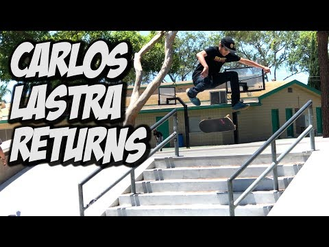 CARLOS LASTRA RETURNS TO SKATE FOR 1 DAY ONLY !!! - NKA VIDS -