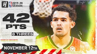 Trae Young NASTY Full Highlights vs Nuggets (2019.11.12) - 42 Pts, 11 Ast, 4 Reb!