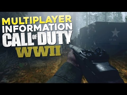 Call of Duty: WW2 Multiplayer Gameplay Information (CoD WWII Multiplayer Gameplay Info)