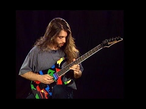 John Petrucci - Rock Disipline - Left Hand Warm Up Streches