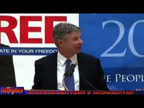 Gary Johnson Has More Experience, Conviction & Respect For People Than Romney & Obama Combined