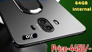 Jio Phone 3, Price 4450/- Internal 64GB, 4000mAh battery