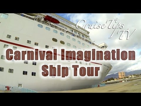 Carnival Imagination Ship Video Tour - Cruise Tips TV