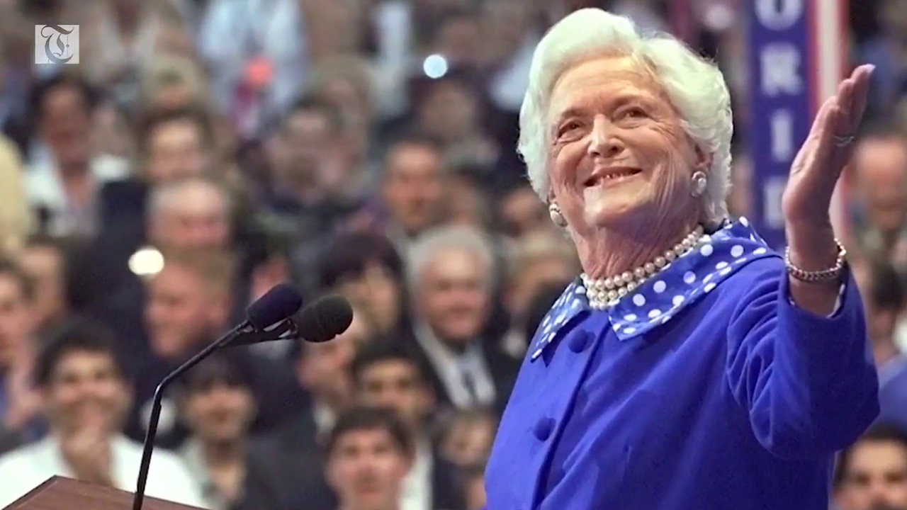 Barbara Bush laid to rest