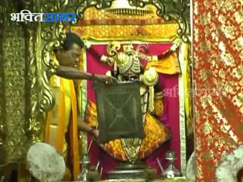 Dwarkadheesh -- Bhagwaan Shree Krishna Temple (exclusive) Aarti. video