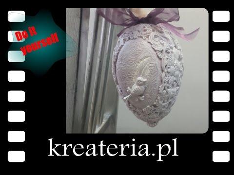 Jak Zrobić Pisankę Ornamentową -jajo Jak Rzeźba, KreaCraftShow017