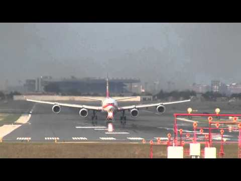 Hainan Airlines A340-600 Head on Takeoff at YYZ