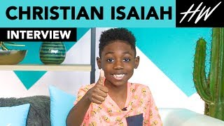 Shameless' Christian Isaiah Spills Ethan Cutkosky & William H. Macy Stories!  | Hollywire