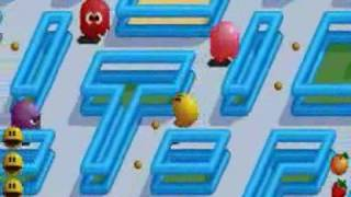 beating the game in pacmania