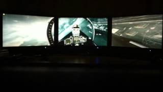 Battlefield 3 (Going Hunting) - nVidia GTX 680 SLi Triple Monitor Surround Gameplay