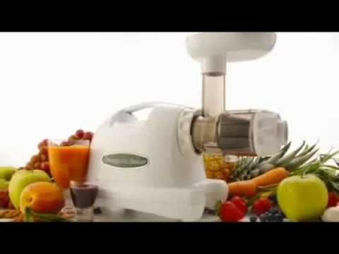 Wyciskarki do soków z warzyw i owoców marki Omega Juicer