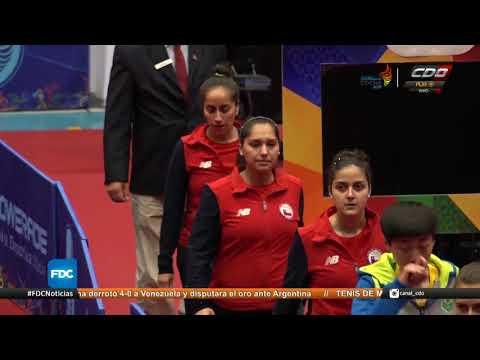 Selección Femenina De Tenis De Mesa Se Quedó Con La Medalla De Plata En Cochabamba