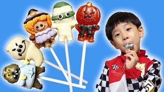 Halloween Candy Finger Family Song Nursery Rhymes Learn Colors for Kids NY Colors 할로윈 사탕 뉴욕이랑 컬러