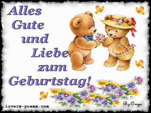 На немецком поздравительные открытки