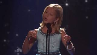Jackie Evancho Americas Got Talent top 10 audition with voting results comments