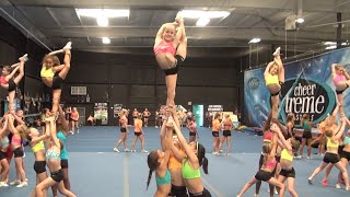 Inside LQQK at Youth Elite Lake Camp ~ Cheer Extreme