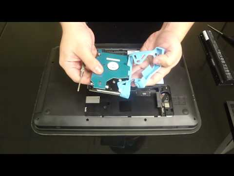 HP PAVILION G6 UPGRADE HARD DRIVE