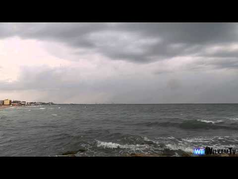 Black Sea ROMANIAN SEASIDE Best time for holiday 4K QUALITY