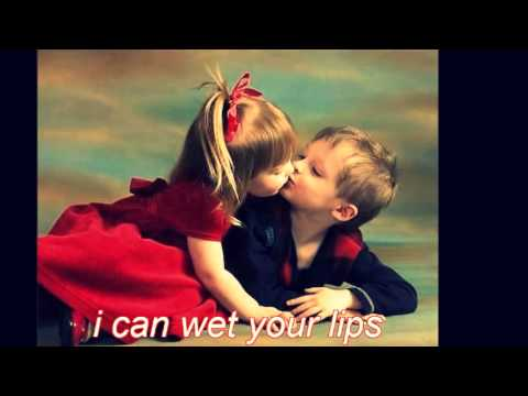 Kiss Me Close Your Eyes Miss Me....a Touching Song  ...too  Romantic video
