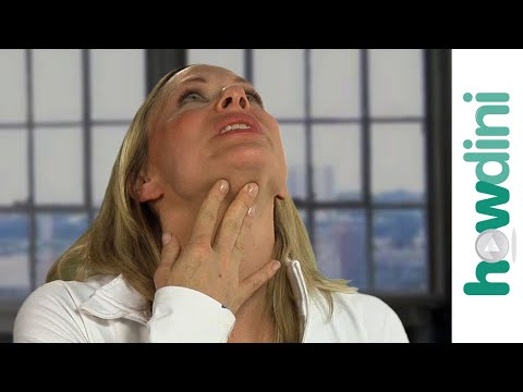 Yoga Facial And Neck Exercises: Firm Your Neck Using Face Yoga video