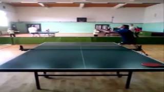Table Tennis-Forehand Short Backspin Serve [Tutorial] [HD]
