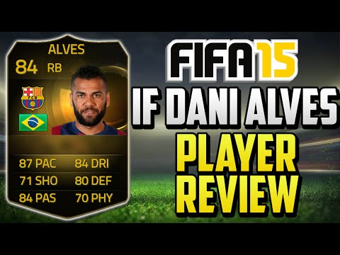 FIFA 15 IF Dani Alves Review (84) w/ In Game Stats & Gameplay - Fifa 15 Player Review
