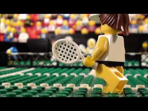Wimbledon 2013 in LEGO