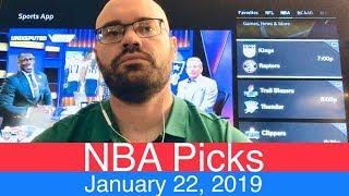 NBA Picks (1-22-19) | Basketball Sports Betting Expert Predictions | Vegas Odds | January 22, 2019