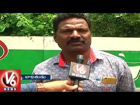 People Fires On RTA Officers Over Delay In Issuing RC And Driving Licence | Khammam | V6 News