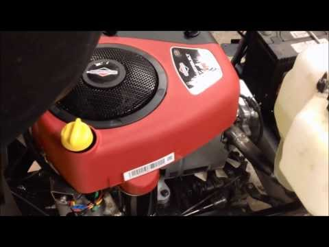 Briggs & Stratton Intek 15.5HP OHV, first startup