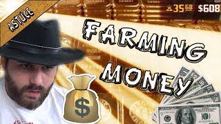 350 $ EN 60 MIN ! ASTUCES DE FARM ARGENT/ DOLLARS ( RED DEAD REDEMPTION 2 ONLINE )