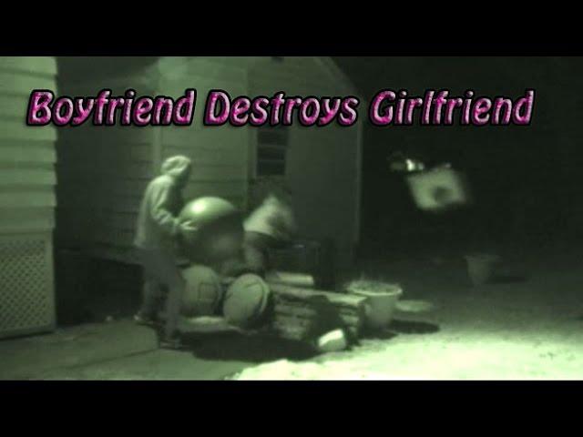 Boyfriend Destroys Hot Girlfriend w/ Exercise Ball Prank