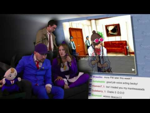Phoenix Wright is AWESOME! - Part 94.5 - Post Show!(Source)