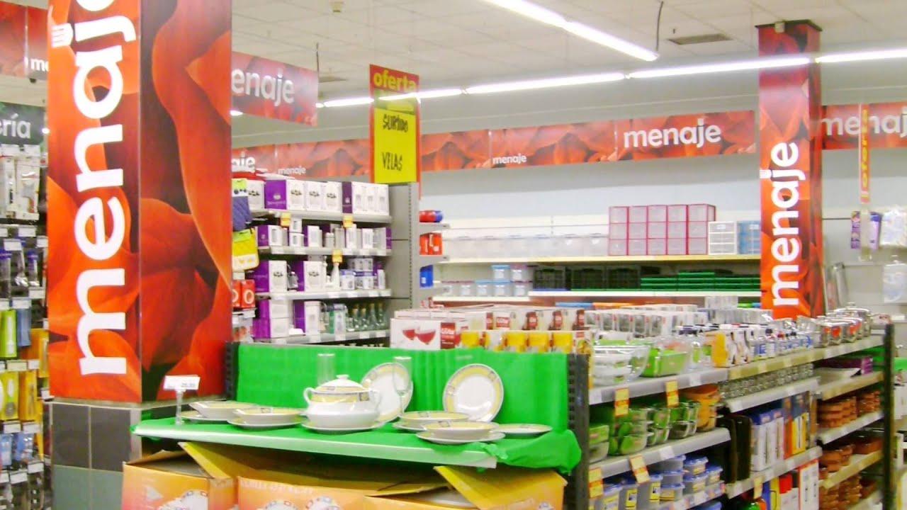 Hiperdino nueva decoraci n de tiendas youtube for Decoracion de supermercados