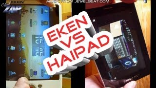 Eken M001 vs. Haipad i7 - a Look at the Shanzhai Development - Android Tablet Comparison ColonelZap