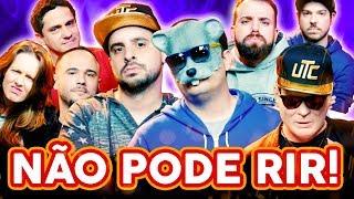 NÃO PODE RIR! com Rato Borrachudo, Silvio Santos do CS, StereOnline e TheDarkness