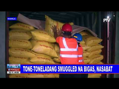 Tone-toneladang smuggled na bigas, nasabat thumbnail