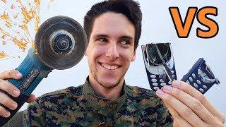 TEST DE DESTRUCCION - Nokia 3310 VS Nokia 3310!