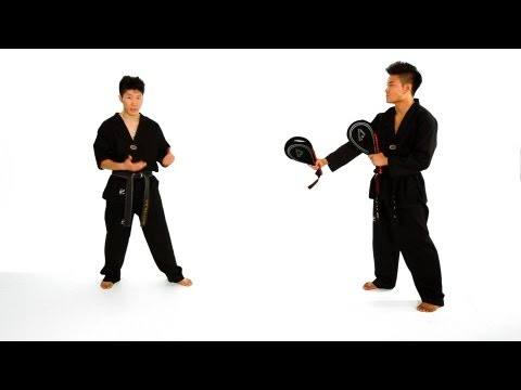 How to Do Combination Drills | Taekwondo Training Image 1