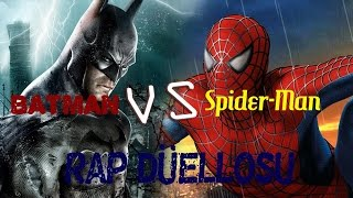 Spider-Man vs. Batman Rap Düellosu (Rap Battle)