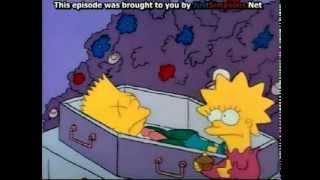 Bart Simpsons.. - funeral scene