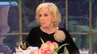 La noche de Mirtha 2014 - Griselda Siciliani habló de su relación con Adrián Suar