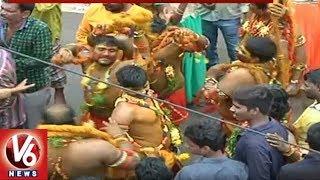 Bonalu Festival Celebrations At Golkonda Temple | Hyderabad