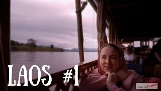 Luxury Mekong River Cruise 🛳 in Laos - Day 1️⃣  (2018)