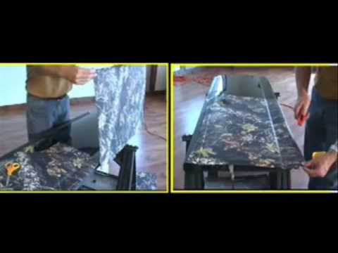 0 Part 5 of 6   How to Videos Truck Camouflage Install   Official Camoclad Video