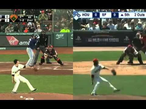 Tim Lincecum Mechanics:  2013 vs. 2009