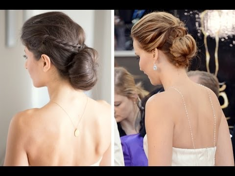 Jennifer Lawrence Inspired Updo