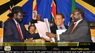 DireTube News South Sudan rivals meet for peace talks in Ethiopia