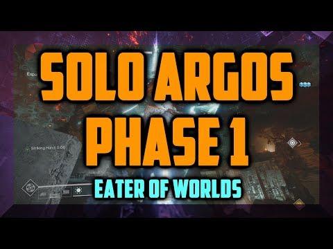 Destiny 2 - Solo Argos Phase 1 (Break the Barrier) - Eater of Worlds Raid