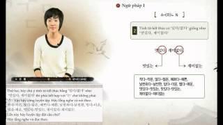 [Sơ Cấp 2] Tiếng Hàn - Bài 13: Mẫu người lý tưởng của tôi là người hiền lành